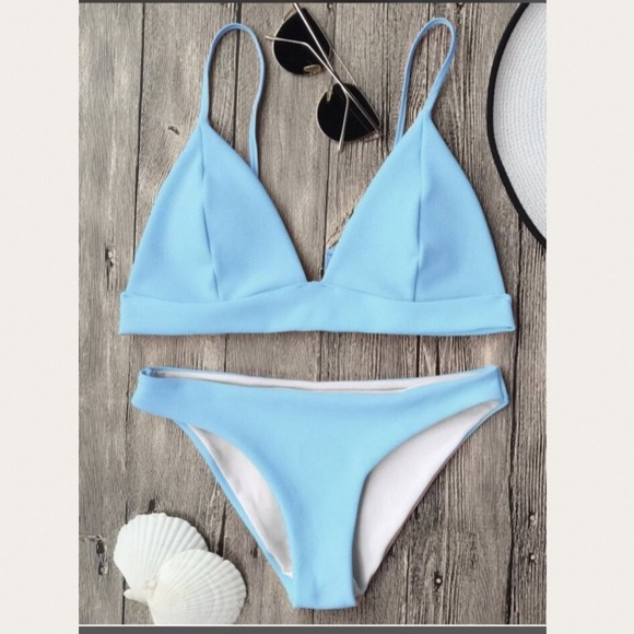 Zaful Other - Baby blue bikini
